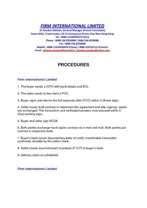 Copy (2) of Procedure