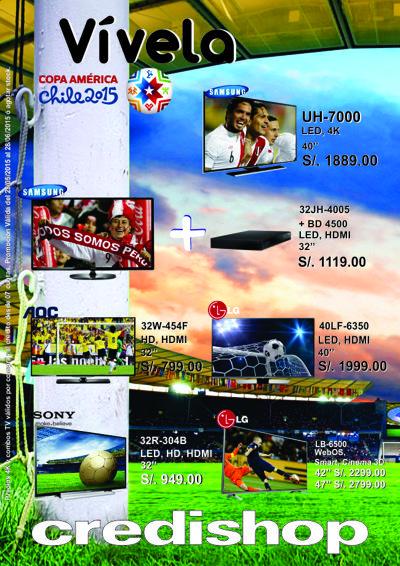 Copa America 2015 - CREDISHOP