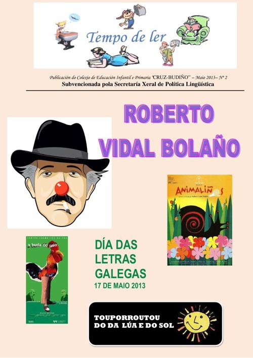 Revista Tempo de ler - Maio 2.013 - Letras Galegas