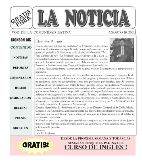 La Noticia 2001-8-11