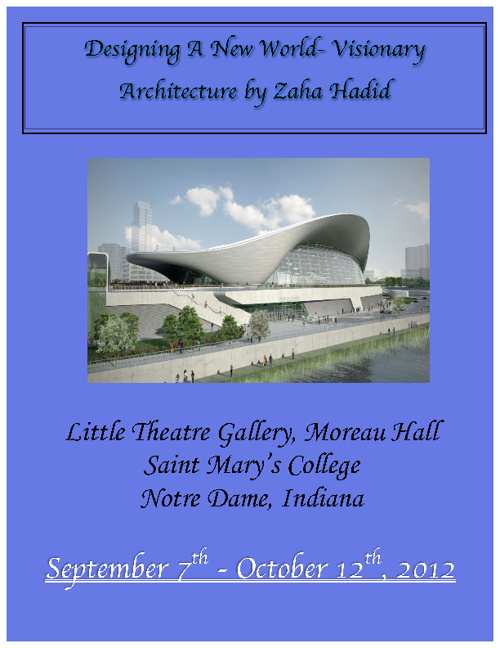 Designing A New World- Visionary Architecture by Zaha Hadid
