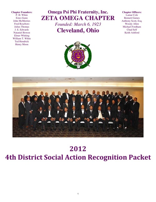 Zeta Omega Social Action Recognition Packet