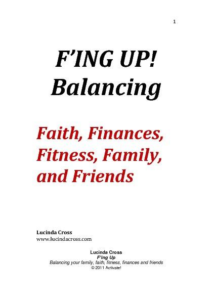 F'ING UP! Balancing