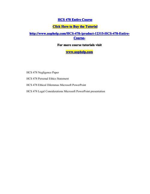 HCS 478 Squared Instruction/uophelp