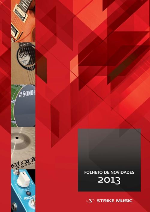 Catálogo de Novidades Strike Music 2013