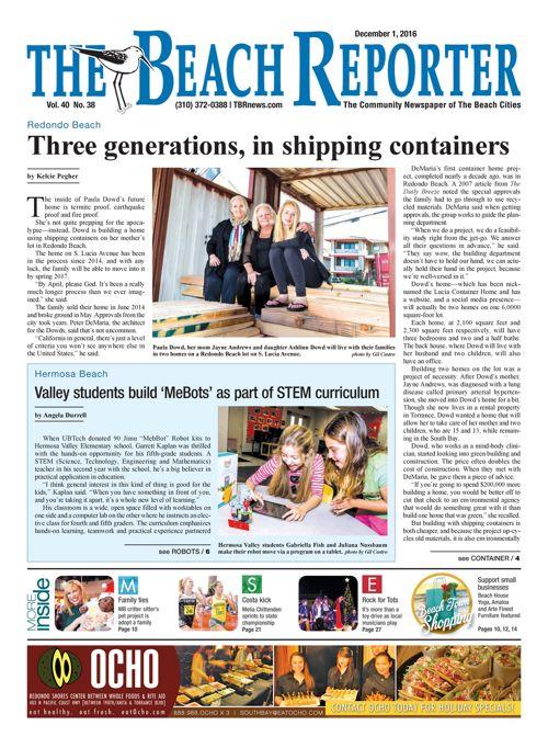 The Beach Reporter | December 1, 2016