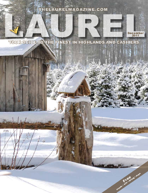 December Laurel Magazine of Highlands NC and Cashiers NC