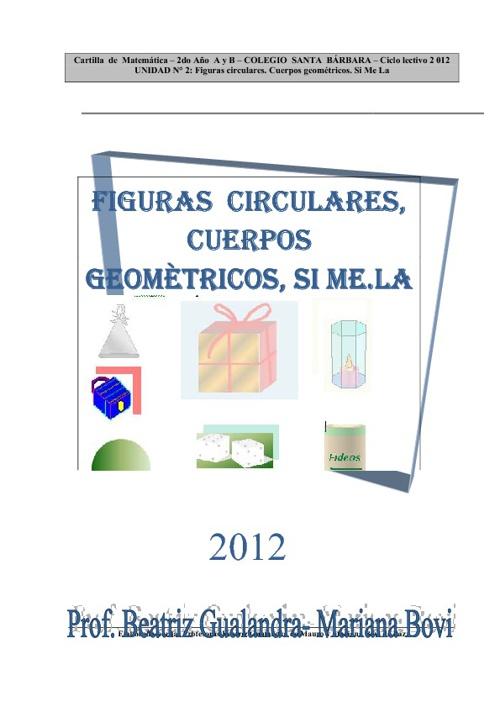 Figuras Circulares - Cuerpos geomètricos - simela
