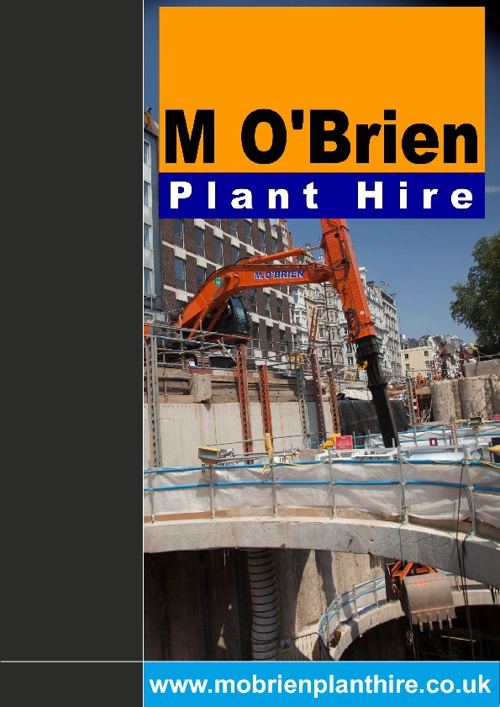 M O'Brien Plant Hire Interactive Brochure