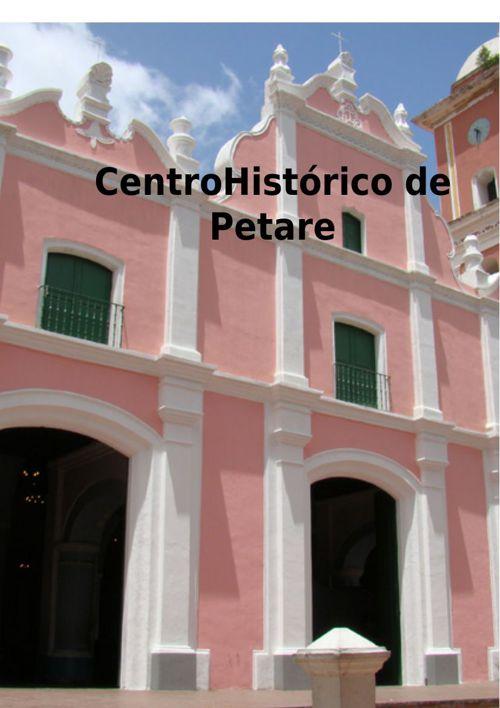 Copy of Centro Historico de petare