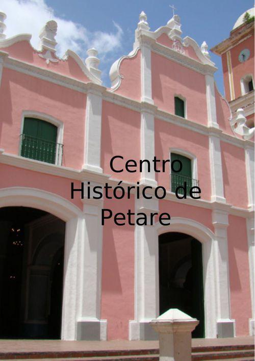 Centro Historico de petare