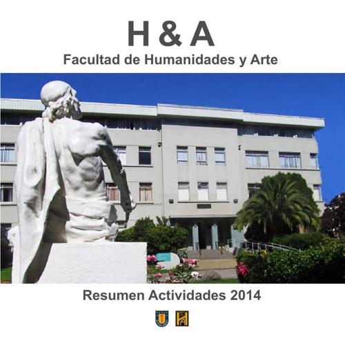 Maqueta del Anuario 2014 de Facultad Humanidades y Arte