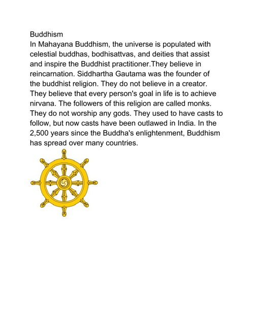 World Religions Book