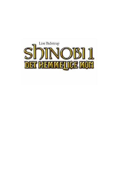 Shinobi, læseprøve