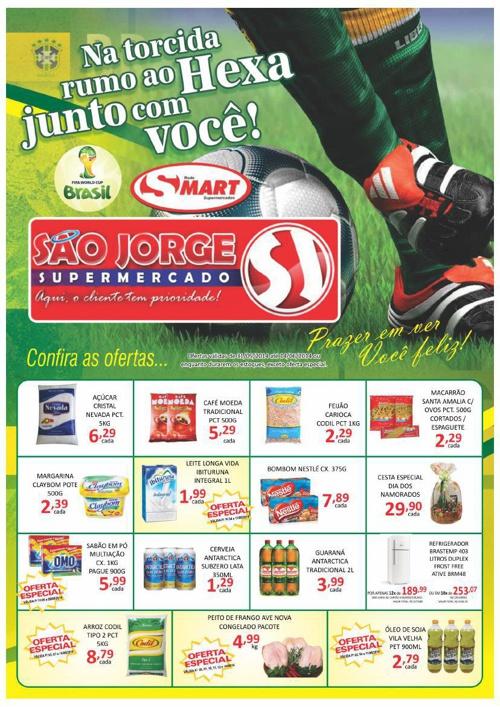 São Jorge Supermercado - Copa 06/14