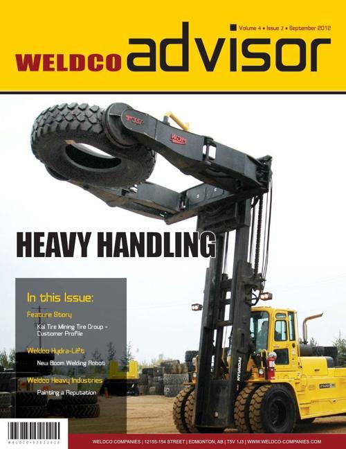 Weldco Advisor - Volume 4 | Issue 2 | September 2012