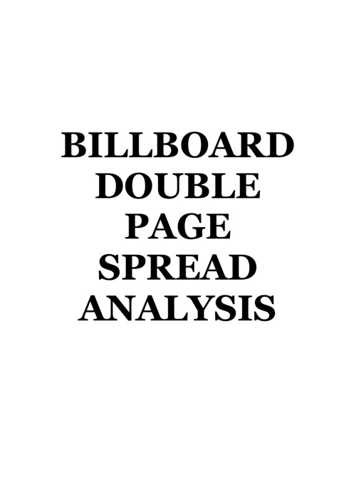 BILLBOARD DPS