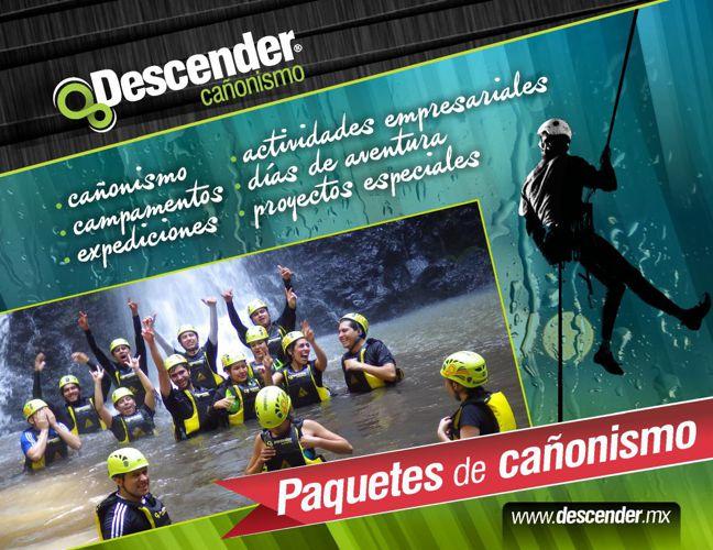 DESCENDER CAÑONISMO / Paquetes