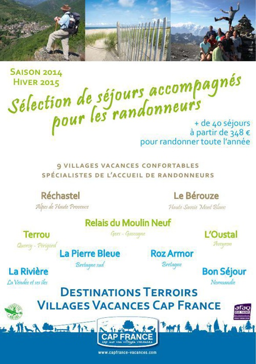 Brochure rando Destinations Terroirs
