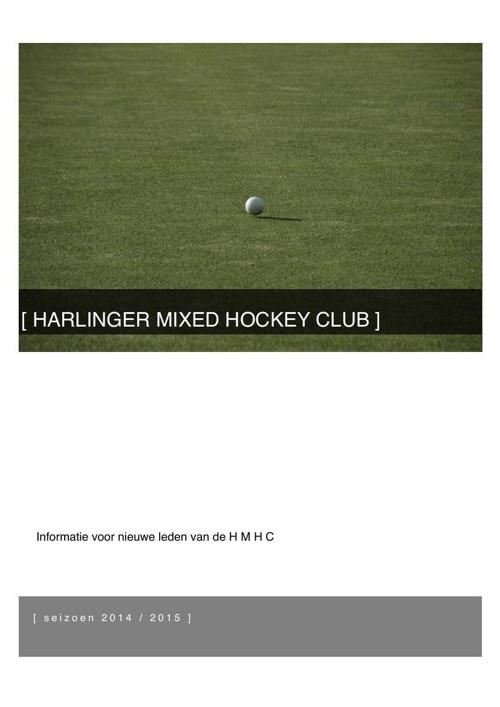 HARLINGER MIXED HOCKEY CLUB- 2014-2015