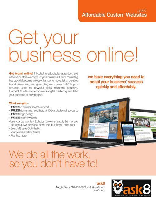 Ask8 BEST DESIGNED WEBSITES customer packages