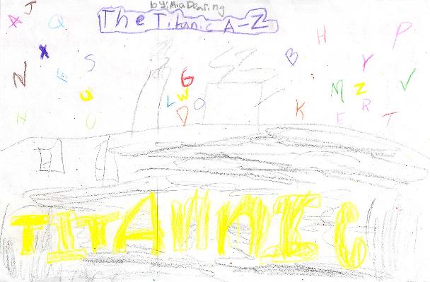 The Titanic A-Z by Mia