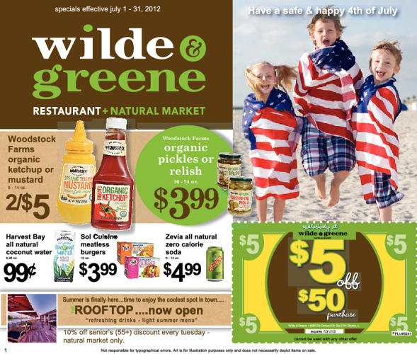 W&G Flyer - Jul 2012