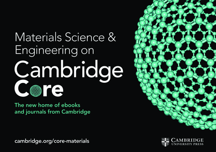 Cambridge CoreMaterials Science and Engineering flyer 2017