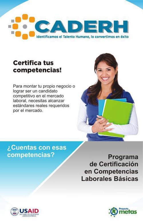 Certificación CADERH