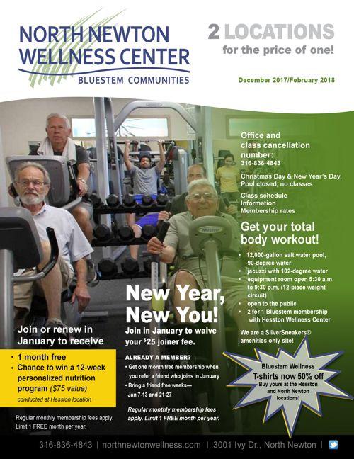 Winter 2017-18   North Newton Wellness Center News