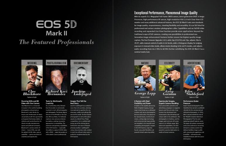 Canon EOS 5D Mark II & EOS 7D