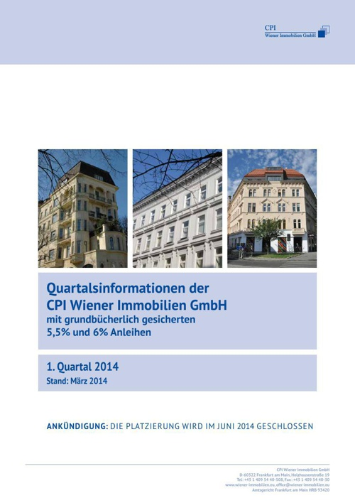 CPI Frankfurt Quartalsinfo 01/2014