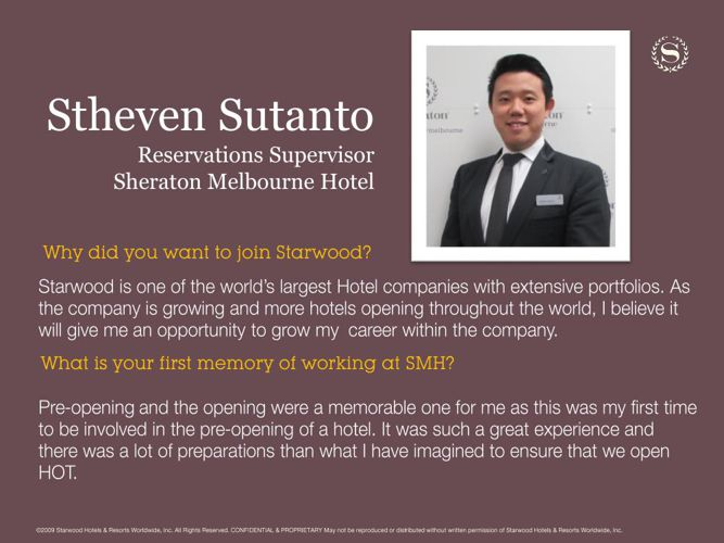 Day in a Life: Stheven Sutanto, Reservations Supervisor at Shera