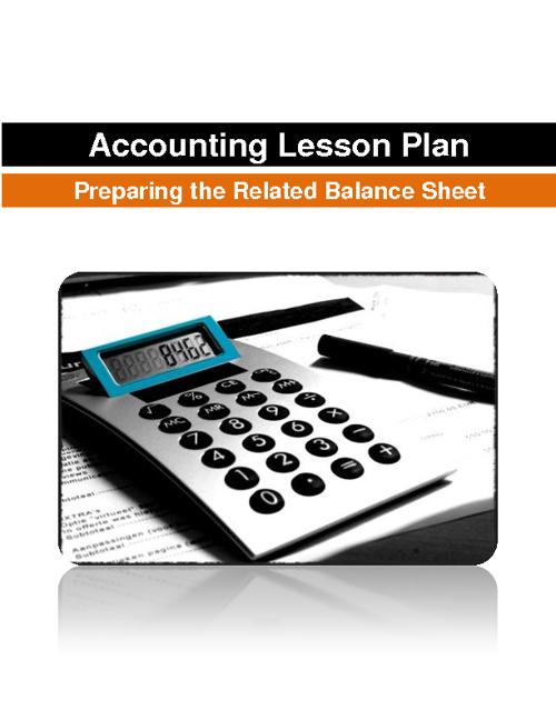Accounting Lesson Plan