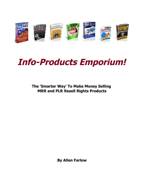 Info Products Emporium - Allen Farrow