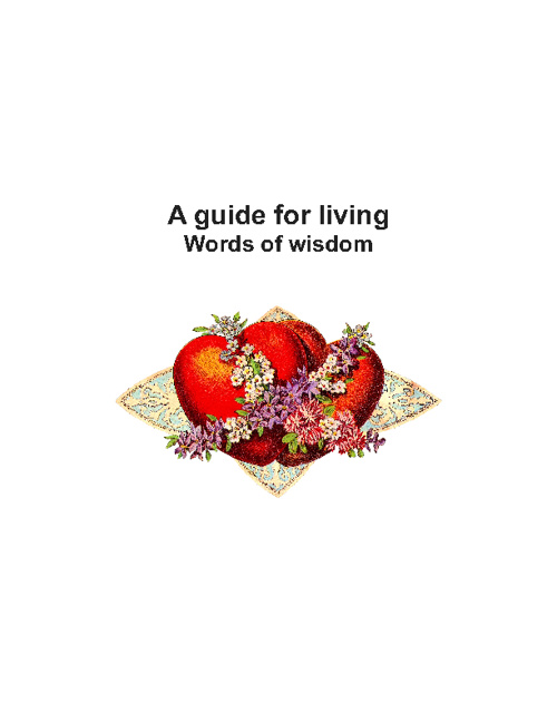 Guide for happiness 2012