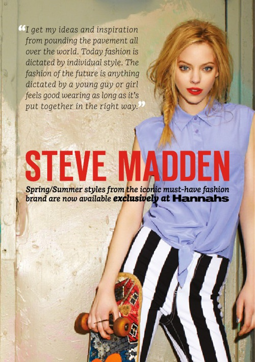 Hannahs Steve Madden Look Book September 2013