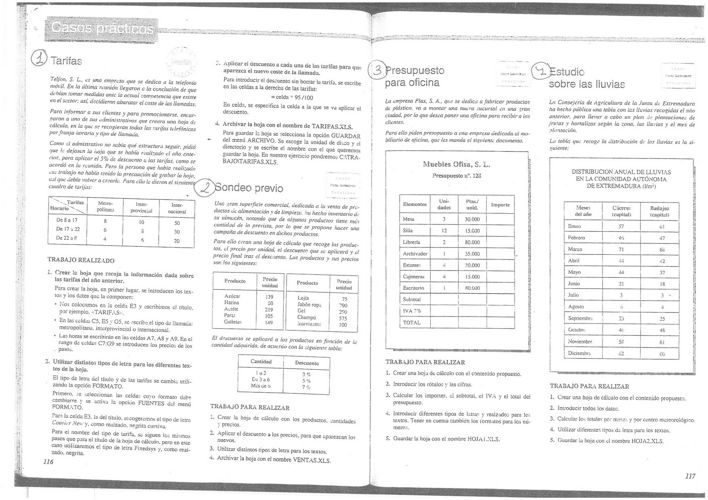 Actividades Excel I Básico