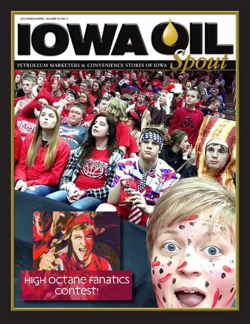 2016 Iowa Oil Spout - March/April
