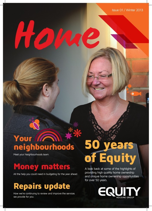 Equity Housing Group - Winter Newsletter  - December 2013