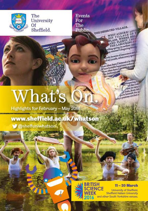 What's On leaflet Spring 2016