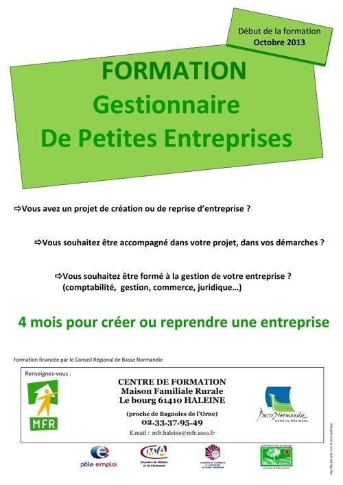 Formation Gestion Petites Entreprises