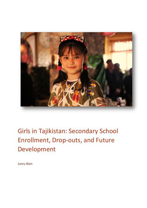 Girls in Tajikistan: Secondary School Enrollment, Drop-outs, and