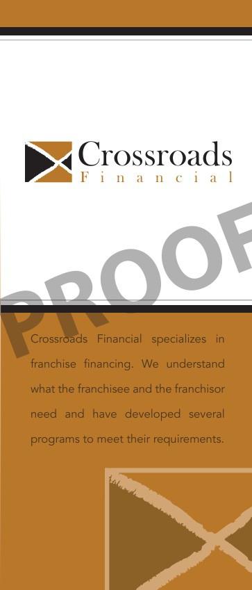 Crossroads Financial PROOF