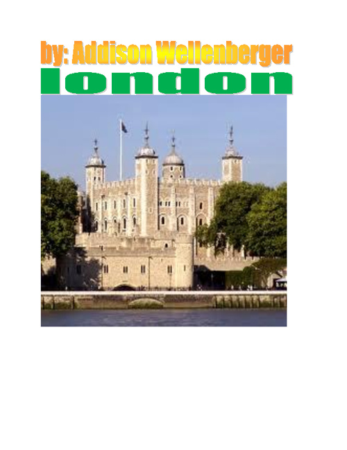 Copy (2) of London by Addison Wellenberger