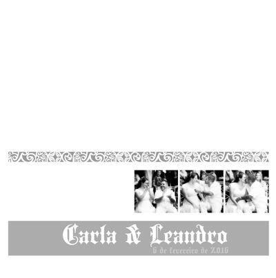 Carla & Leandro ( 6 de fevereiro de 2016 )