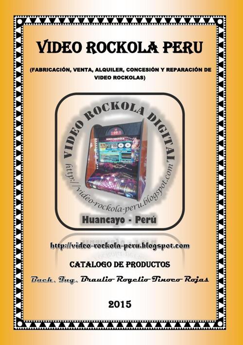 CATALOGO ROCKOLAS 2015