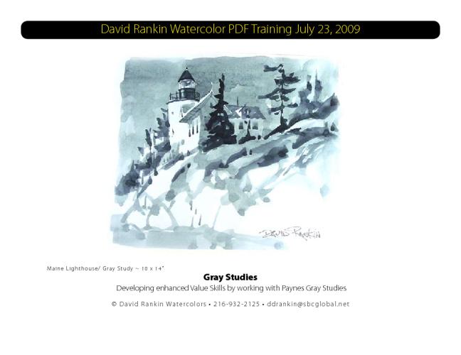 David Rankin Gray Study Training