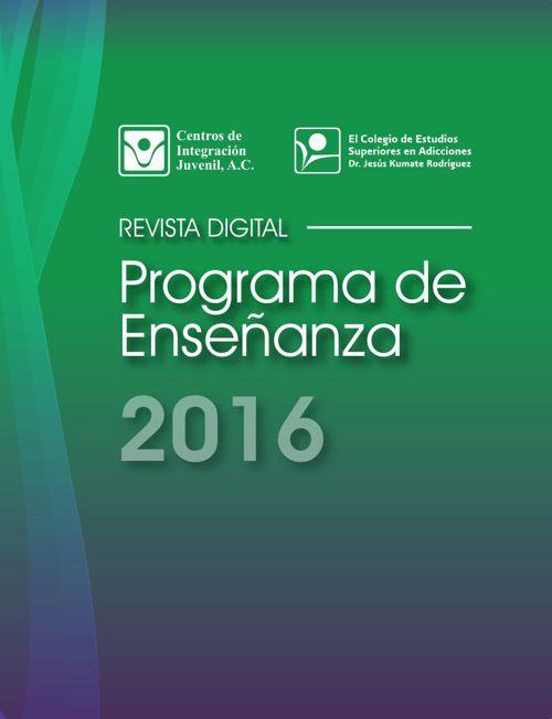Programa de Enseñanza CIJ 2016