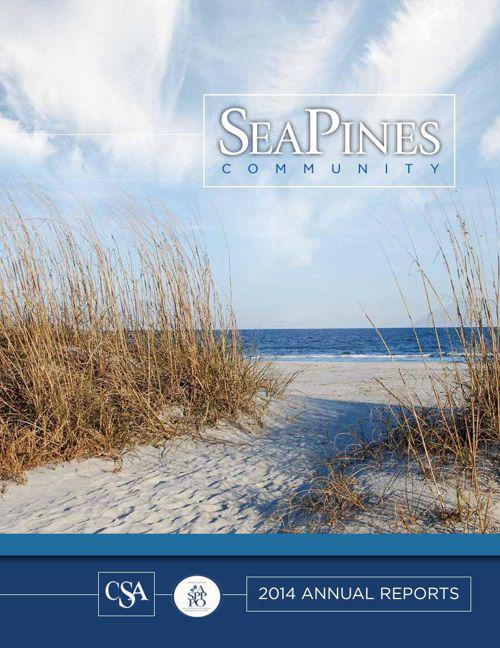 Sea Pines 2014 Annual Report